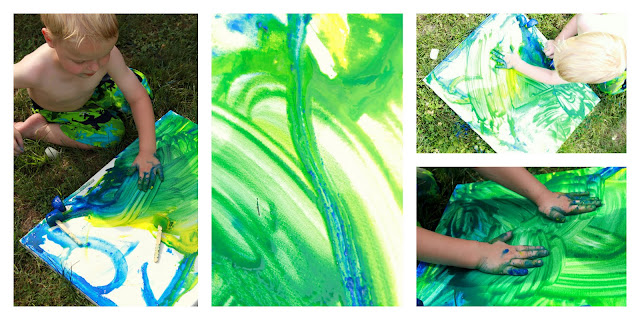 Frozen Paint Summer Art Project For Kids