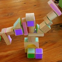 Velcro Block Activity for Kids