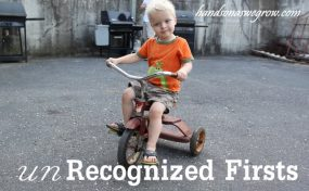 Proud Moments: The unRecognized Firsts