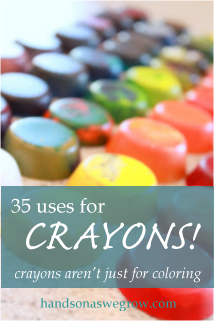 35 uses for crayons-2