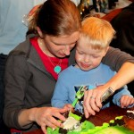 Tractor & Play Dough Birthday Party Fun!