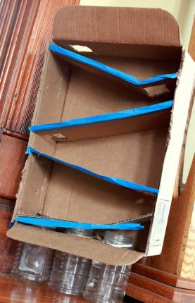Cardboard Box Ramps: Trial & Error