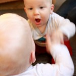 Baby Play : Mirror Reflections