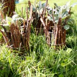 Make a Tin Can Forest for Outdoor Pretend Play