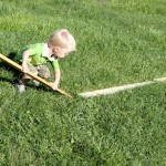 Outdoor Play : Balance Beam