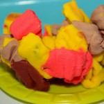 Pretend Play : Play Dough Pizza Bites