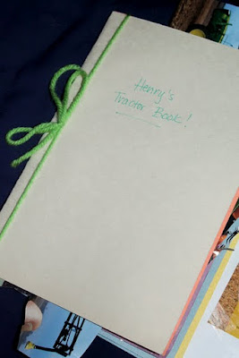 writing a story for a homemade book