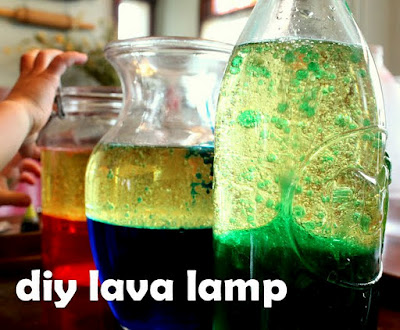 make a lava lamp experiment for preschoolers