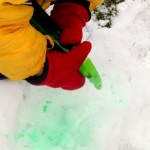 Color Snow: A Winter Activity