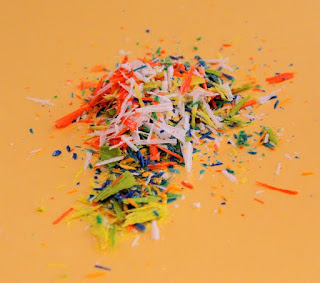 Shavings for Melted Crayon Art