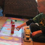 Preschooler Activity: Counting Blocks, Building Towers