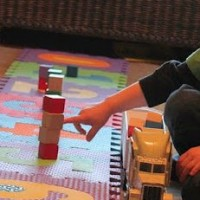 Counting & Building Towers activity for kids