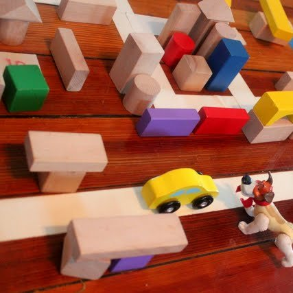 Build a City of Blocks Activity for Kids