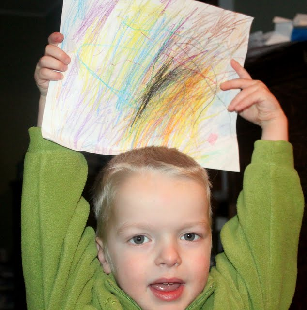 Image result for kid with crayons