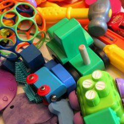 St Patrick's Day Rainbow Toy Hunt