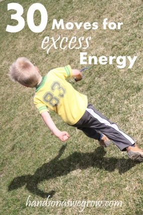 30 Gross Motor Skills Moves That are Great for Excess Energy!