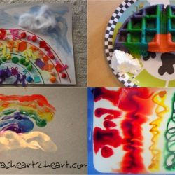 St. Patrick's Day Rainbow Crafts, Art and Activity on It's Playimte