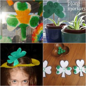 It's Playtime! St. Patrick's Day Shamrocks