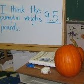 Estimating weight.