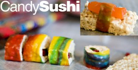 Kid-Friendly Treat: Candy Sushi Feature