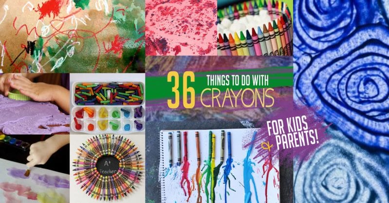 35 Things To Do With Crayons For Kids Parents Hoawg