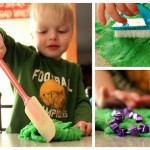 Homemade Play Doh : It's [much] Softer!