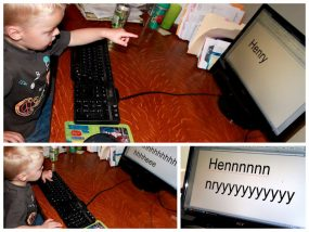 Preschool Technology : Keyboard Lesson