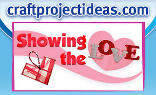 craftprojectideas.com showing the love