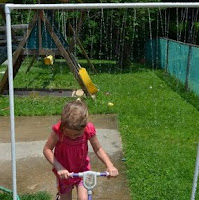 PVC Sprinkler to Beat the Heat