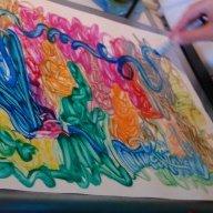 warming tray crayons