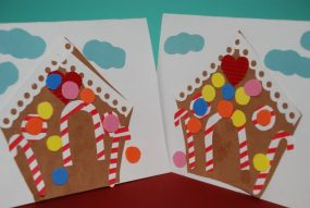 Craft: Gingerbread House Greeting Card