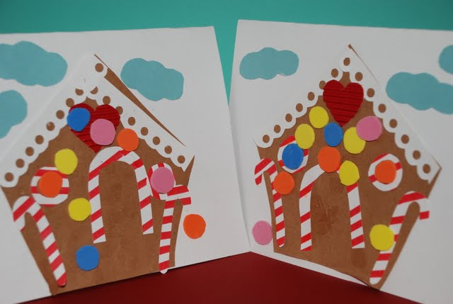 Craft Gingerbread House Greeting Card Hands On As We Grow