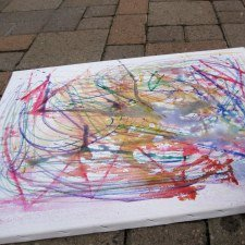 Water Balloons On Crayon Art No Time For Flash Cards Truck Coloring