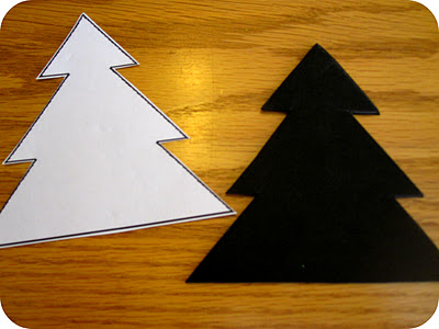 homemade christmas tree ornament craft
