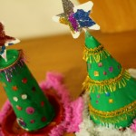 Craft: Upcycled Christmas Trees