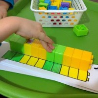 Lego Matching & Patterning learning activity