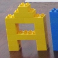 Building Lego Letters Activity
