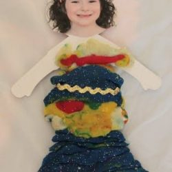 play dough paper doll dressup