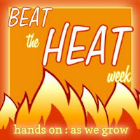 beat the heat week at hands on : as we grow