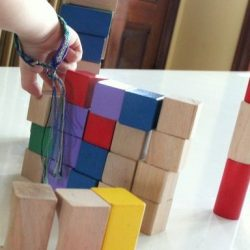 Block Shape Sorting Activity for Kids