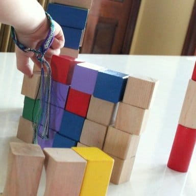 Learn shapes by sorting