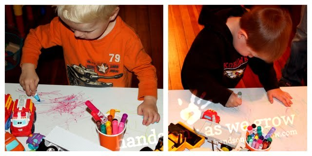 marker play activity