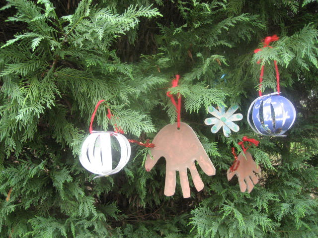 Craft 3 Homemade Christmas Ornaments Hands On As We Grow