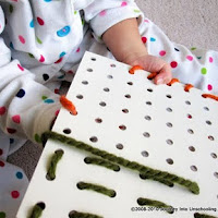Do lacing for fine motor skills