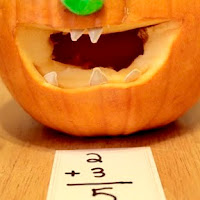 Pumpkin seed math. One of the 40 pumpkin activities for kids.