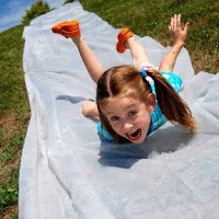 DIY Slip N Slide to Beat the Heat (38 Beat the Heat Ideas)