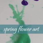 Kids Art: Spring Flowers