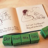 Story Cubes with Words Activity for Kids