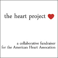the heart project fundraiser for American Heart Association