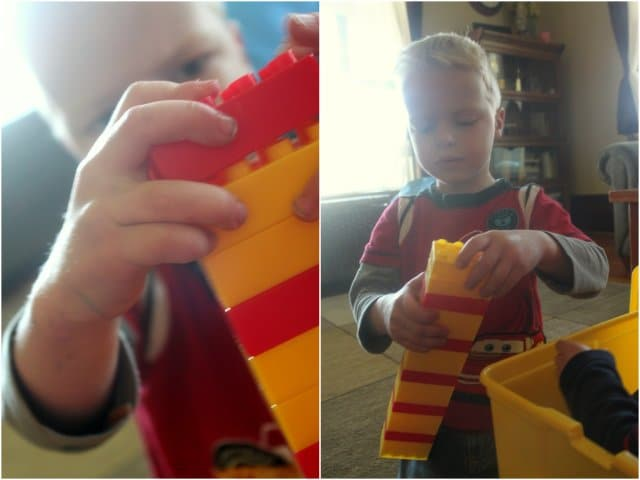 Patterning with Lego Kids Activity